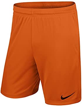 Nike Yth Park II Knit Short Wb - Pantalón corto para niño, color naranja/negro (safety orange/black), talla XL