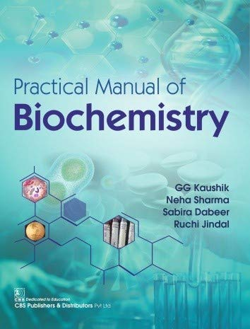 PRACTICAL MANUAL OF BIOCHEMISTRY (PB 2020)