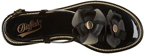 BUFFALO Pth-0020 Pvc, Protezioni Toe Donna Nero (Black 01)