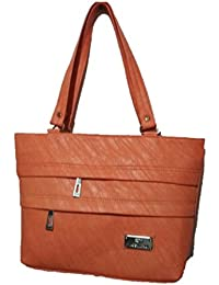 Linker Bags Form Brown Hand Bags (LB-40)