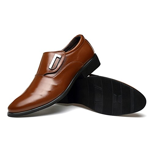 Paris Hill , Mocassins pour homme Marron