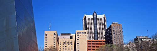 The Poster Corp Panoramic Images - Low Angle View of Buildings Hyatt Hotel St. Louis Missouri USA Photo Print (91,44 x 30,48 cm) Missouri Hotel