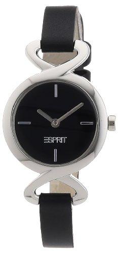 Esprit fontana soft ES106272001 - Reloj para mujeres, correa de cuero color negro