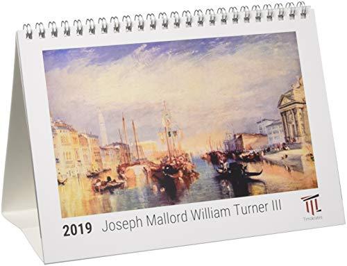 Joseph Mallord William Turner III 2019 - Timokrates Tischkalender, Bilderkalender, Fotokalender - DIN A5 (21 x 15 cm)