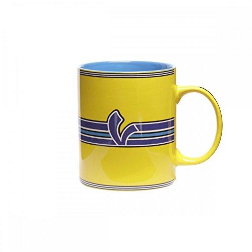 Original Vespa Tasse V-Stripes in gelb