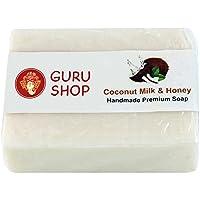 Guru-Shop Jabón Artesanal Gurú Coco Leche Miel, ...