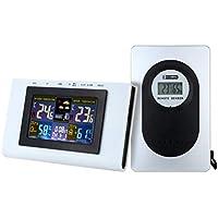 Vosarea gráfico de termómetro de higrómetro de Temperatura de Tiempo Digital inalámbrico para Exteriores ...