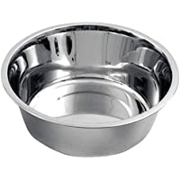 Edelstahl Hundenapf ca. 1800ml Napf Schüssel Trinknapf Futternapf