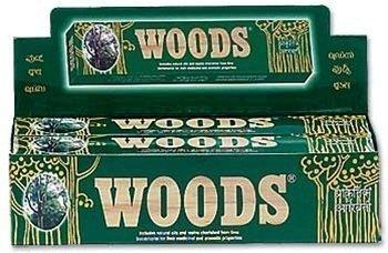 Woods Natural Räucherstäbchen, groß-Pack