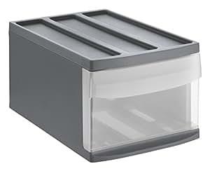 rotho 1114308853 schubladenbox systemix aus kunststoff ablagefach gr sse m plastik. Black Bedroom Furniture Sets. Home Design Ideas