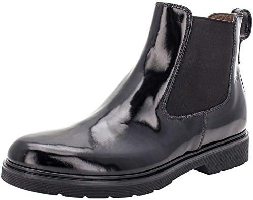 NeroGiardini 503701, botines, plano de 0 a 2 cm, negro, Florentic, Redonda, Otoño/Invierno