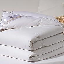 San Carlos Platinum - Relleno nórdico, densidad 300 g, 100% plumón oca, cama 150, color blanco