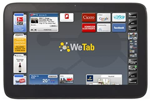 WeTab 3G 29,5 cm (11,6 Zoll) Tablet-PC 32GB (UMTS, Bluetooth