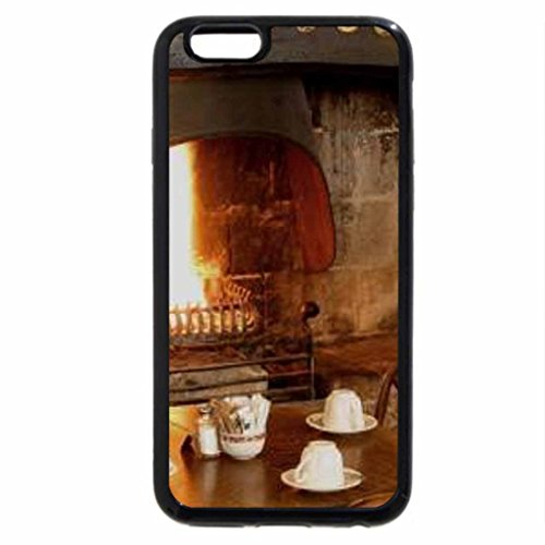 iPhone 6S / iPhone 6 Case (Black) cups....waitings for tea....by the fireplace....