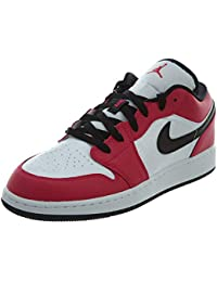 outlet store 90f38 d956e Nike Air Jordan 1 Low BG, Chaussures de Sport Garçon