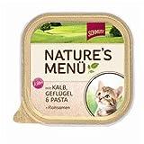 Schmusy   Nature Kitten mit Kalb, Geflügel & Pasta   16 x 100 g