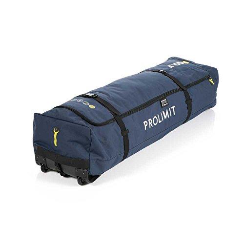 Prolimit 2018 Kitesurf Travel Light Golf Board Bag 150x45 Pewter/Yellow 83344