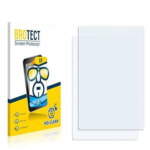 BROTECT Pellicola Protettiva Compatibile con DeLonghi Lattissima PRO EN 750.MB [2 Pezzi] - Protezione Schermo, Ultra Trasparente