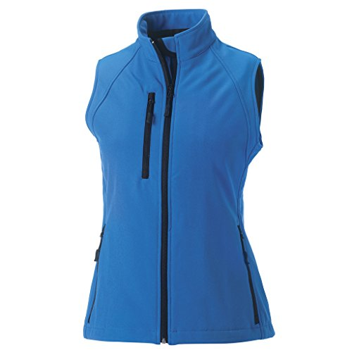 MAKZ - Manteau sans manche - Femme Bleu - Bleu azur
