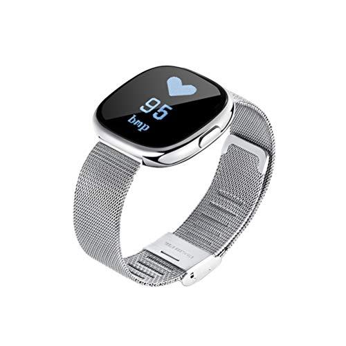 Preisvergleich Produktbild Hemobllo Smartarmband mit GPS Wasserdicht Schrittzähler Herzfrequenzmesser für Damen und Herren Sport (Grau)