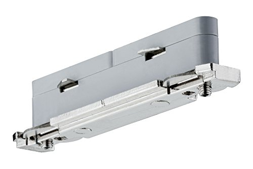 Elektro-metall-lampe (Paulmann 951.36 Verbinder, Metall, silber)