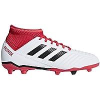 meet 490e6 04751 adidas Predator 18.3 Fg J, Scarpe da Calcio Unisex-Bambini, Bianco Ftwwht