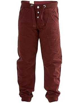 New Kids ragazzi Enzo designer ammanettato Pareggiatore Chino 100% cotone bottone Fly Pants