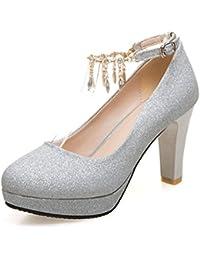Suchergebnis auf Amazon.de für  34 - Silber   Pumps   Damen  Schuhe ... c95f56a87d