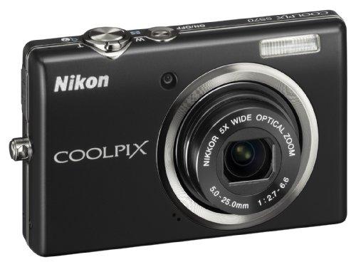 igitalkamera (12 Megapixel, 5-Fach Zoom, 6,9 cm (2,7 Zoll) Display) schwarz ()