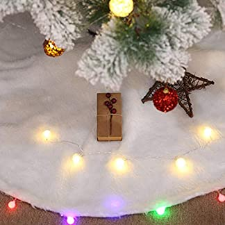 Hermosa Falda de árbol de Navidad para decoración de Ciervos de Navidad para el hogar, Sala de Estar