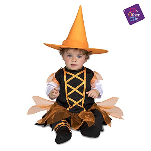 sorcière orange Halloween ( Taille 7 à 12 mois) ()