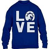 Love Pferde - Süßes Geschenk für Pferde Liebhaber Kinder Pullover