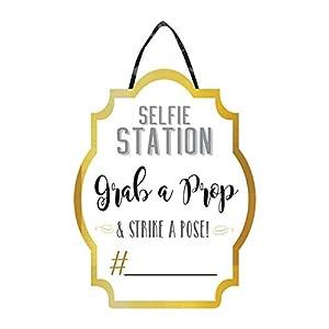Amscan International-241946signsign selfie estación Photo Booth