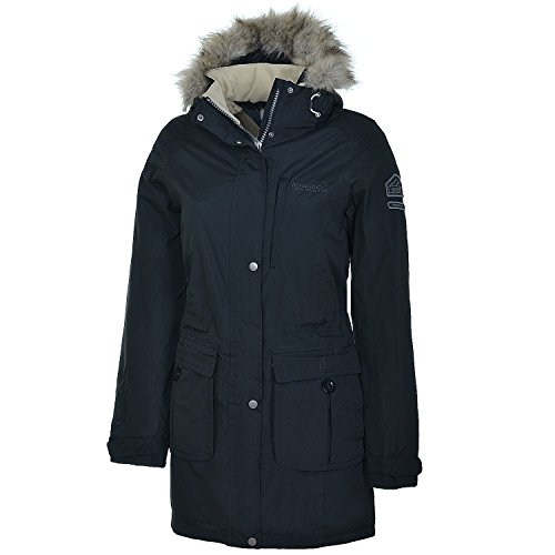 Paso Regatta-Giacca da donna, taglia 46, colore: nero - Pesci Asciutti