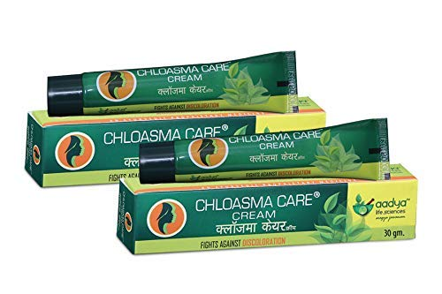 Aadya Life Sciences LLP Chloasma Care Cream Skin Discoloration, 30 G (Pack of 2)