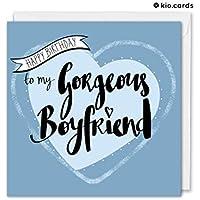 Boyfriend Birthday Card, Romantic Boyfriend Card, Birthday Gifts For Him
