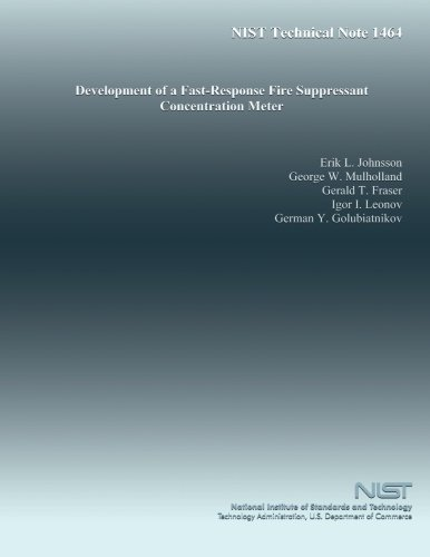 Development of a Fast-Response Fire Suppressant Concentration Meter por U.S. Department of Commerce