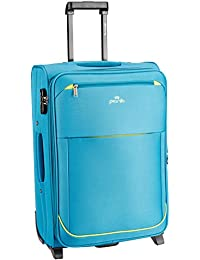 Pronto Moscow Polyester 65 cms Blue Soft Sided Suitcase (6541 - BL)