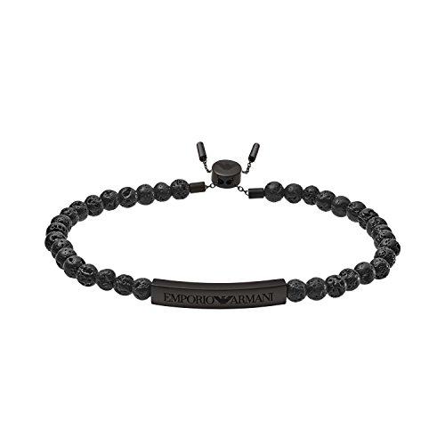Emporio Armani Herren-Manschetten Armbänder Edelstahl EGS2478001