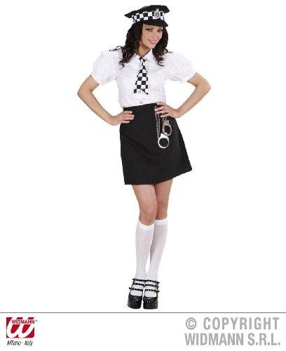 KOSTÜM - BRITISH POLICE GIRL -, Größe 38/40 (M)