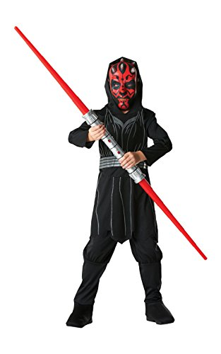 Großbritannien Star Wars Kind Kostüm - Rubie's Darth Maul - Star Wars - Kinder-Kostüm - Large - 122cm