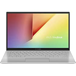 "Asus Vivobook S S420UA-EK021T PC portable 14"" Argent (Intel Core i5, 8 Go de RAM, SSD 256 Go, Windows 10) Clavier AZERTY Français"