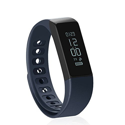 I5 Plus Smart Bracelet Lendoo Bluetooth 40 Wristband Band Smart Watch With Sleep Health Monitor Fitness Tracker Activity Pedometer For AndroidIOSiPhone 6 7 Blue