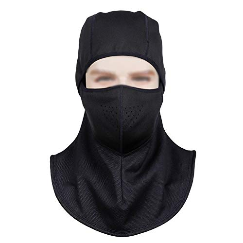 QAZWSX Inverno Ski Mask Passamontagna Antivento Traspirante Asciugatura Rapida Moto Scaldacollo Outdoor Sports Cycling Hat,G