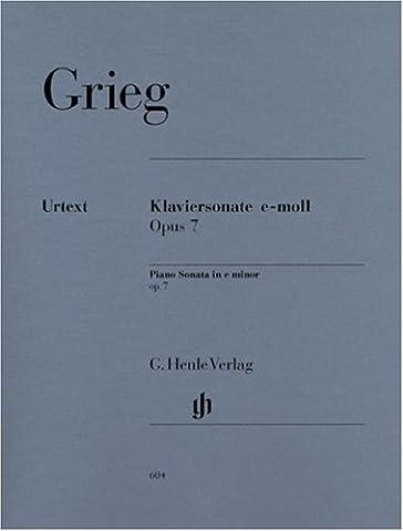 Piano Sonata e minor op. 7 - piano - (HN 604)