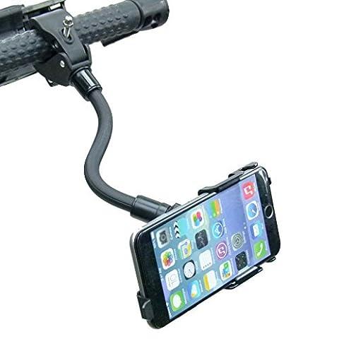 BuyBits Kompakt Schnelle Fix TC Golf Verstellbar Trolley Halterung für Apple iPhone 7 PLUS