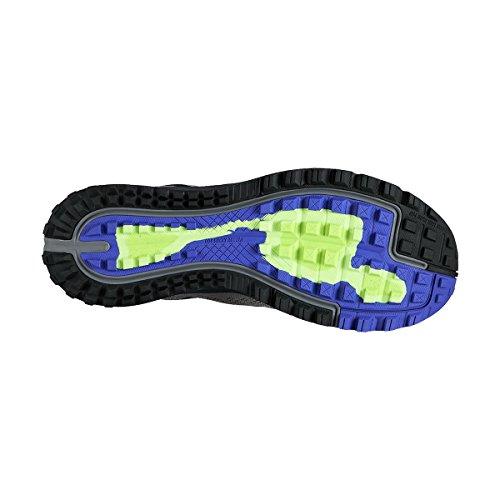 Nike Air Zoom Terra Kiger 3, Chaussures de Running Entrainement Homme, Bleu Gris / Negro / Verde (Cool Grey / Blk-Anthrct-Ghst Grn)
