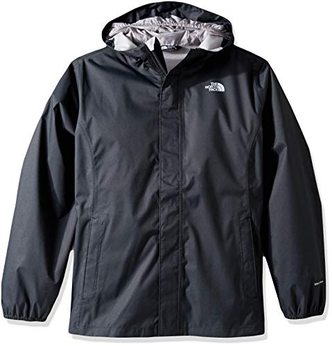 THE NORTH FACE Mädchen Resolve Reflective Jacke, TNF Black, XL (North Face Mädchen Jacken Schwarz)