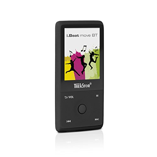 TrekStor i.Beat move BT (MP3-Player), 1,8 Zoll Display, 8 GB Speicher, Bluetooth, schwarz
