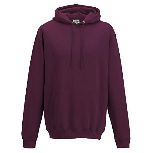 Just Hoods College - Felpa Burgundy